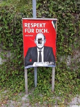 Gauting BTW 2021-09-15 SPD-Plakat Buchendorf 8 107