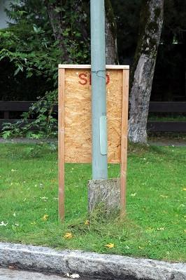 Gauting BTW 2021-09-17 SPD-Plakat Unterbrunner Straße 10