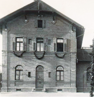 Gauting Bahnhof 1918