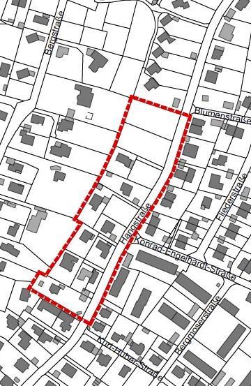 Gauting Bebauungsplan 2020-10-13 Hangstraße Ist