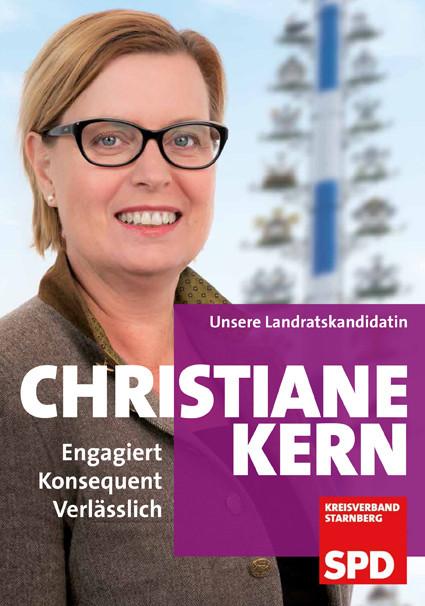 SPD-Landratskandidatin Christiane Kern 2020