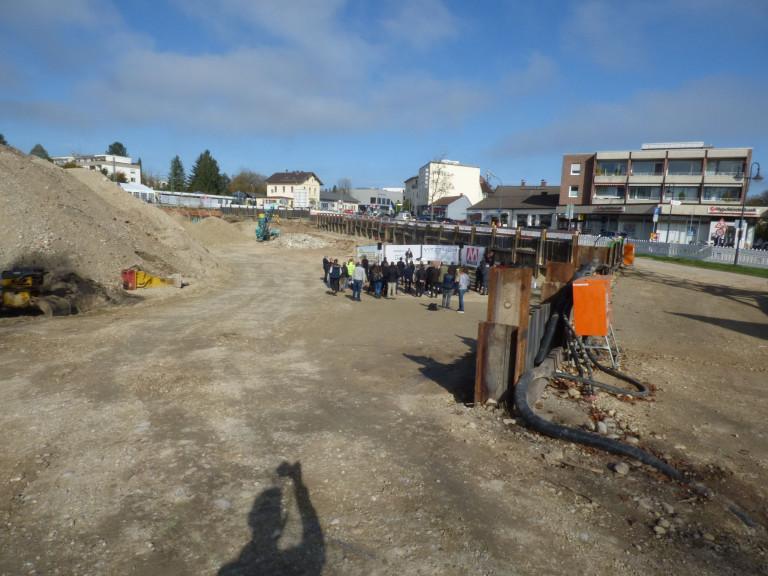 Grundsteinlegung Sontowski-Bau 2019-10-23